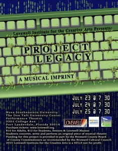 2015 Project Legacy (FLL Teen 2) Poster