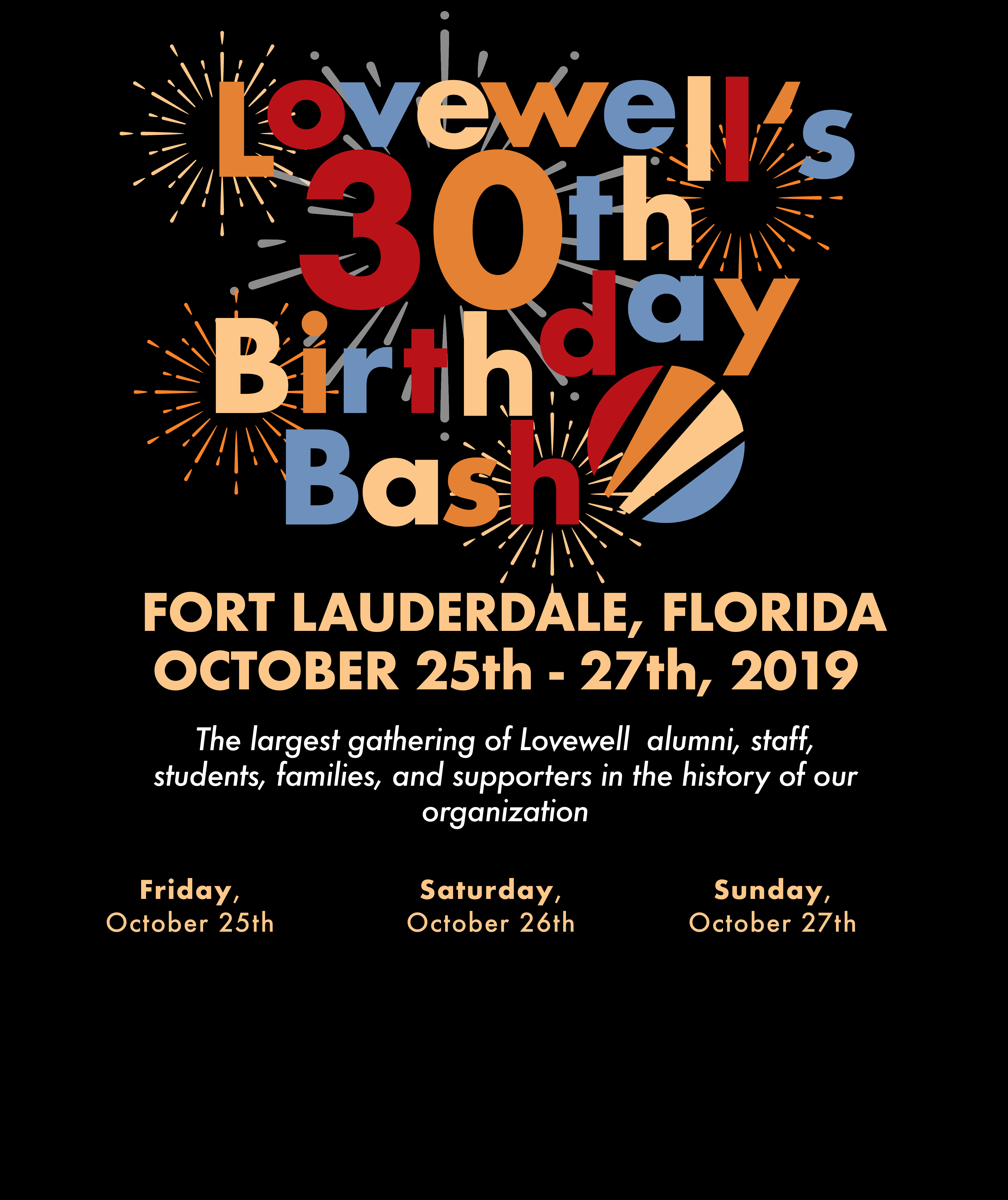 October 25th-27th, 2019 Fort Lauderdale